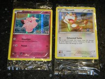 Pokemon Clefairy & Meowth Foil / Holo Toys R Us Promo Event Card Lot 2 Cards in Kingwood, Texas
