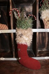 Christmas Stocking in Ramstein, Germany