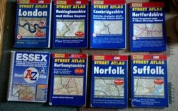 Phillips Maps in Lakenheath, UK