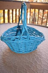 Blue Woven Basket in Macon, Georgia