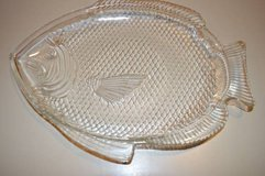 Clear Glass Fish Plate in Macon, Georgia