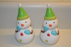 Snowman Salt and Pepper Shakers in Macon, Georgia