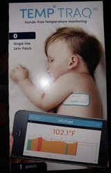 Smart Thermometer Patch- 24hr Wearable Tracker w/Mobile Alerts in Houston, Texas