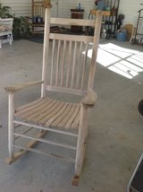 Solid wood rocking chair in Fort Polk, Louisiana