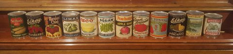 Set of 12 Original Can Labels $15 in Naperville, Illinois