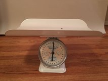 Antique baby scale in Beaufort, South Carolina