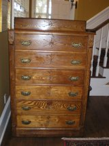OAK CHEST OF DRAWERS in Beaufort, South Carolina