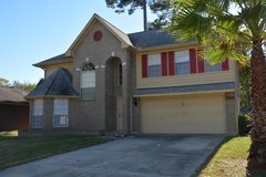 Two story home for rent in Sherwood Trails, Kingwood. Home has been completed updated and is rea... in Houston, Texas