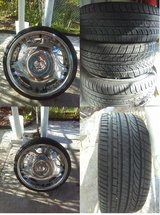 225/35/20 Rims and tires low pros in MacDill AFB, FL