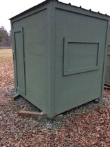 Deer Blind Box on stand in Houston, Texas