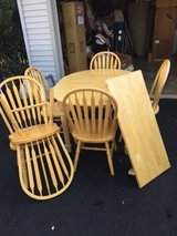 $160 Oak Table and Chairs in Fairfax, Virginia