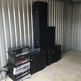 several crown amps and speakers in Fort Benning, Georgia