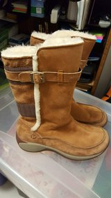 Winter boots in Ramstein, Germany