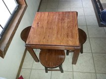 Kids Table / 4 Stools in Livingston, Texas