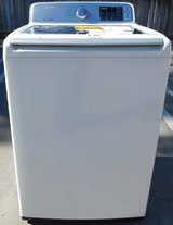 WASHER - (NEW) SAMSUNG HIGH EFFICIENCY WITH WARRANTY in Oceanside, California