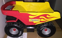 Tonka RED FLAMES Mighty Dump Truck in Cleveland, Ohio