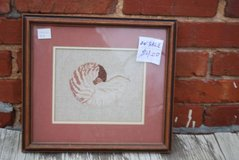 Cross Stitch Shell Picture in Warner Robins, Georgia