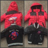 2T Spider Man winter Jackets in Lake Elsinore, California
