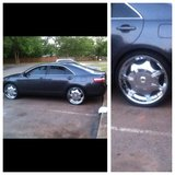 """22""""Rims and Tires Cash Only in Warner Robins, Georgia"""