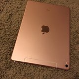 iPad Pro Later Model 32 GB (4G LTE) Wi-Fi Rose Gold 9.7 inch in Oceanside, California