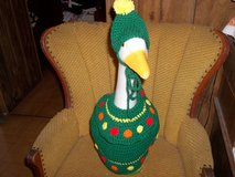 Christmas Tree Goose Geese Outfit Dress Crochet in Belleville, Illinois