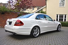 Mercedes Benz E55 AMG LHD immaculate (very low mileage) PRICE REDUCED in Lakenheath, UK
