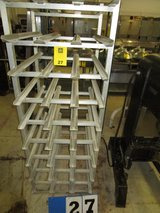 Commercial can rack holder in Houston, Texas