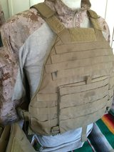 Medium eagle Scalable plate carrier in Camp Pendleton, California