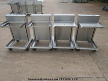 Stainless Tray Carts in Houston, Texas