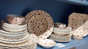 Spode Rosebud Chintz Dishes in St. Charles, Illinois