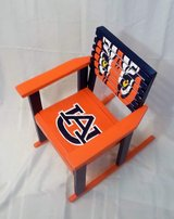 Childs Rocking Chair Hand Painted Auburn Tigers in Dothan, Alabama