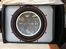 "Rockford Fosgate Punch 15"" Subwoofer in Q-Logic box in Fort Benning, Georgia"