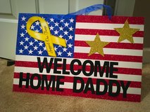 New (deployment) homecoming signs.... in Camp Lejeune, North Carolina