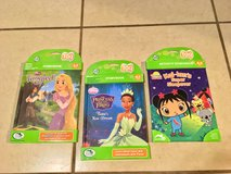 Lot of 3 Brand New Leapfrog Tag Reader Girl Books Kai-Lan Tangled Frog Princess New in Vacaville, California
