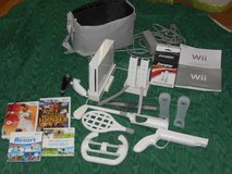 Wii game system plus extras in Fort Benning, Georgia