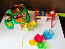 Baby Toys Peg Board Caterpillar  Cash Register Cups in Fort Campbell, Kentucky