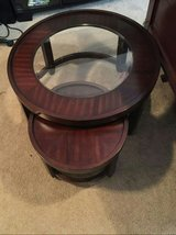 Round coffee table in Fort Bragg, North Carolina