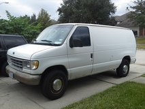 XTRA WORK VAN, 94 E350 CARGO in Houston, Texas