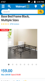 Twin size platform bed in Lawton, Oklahoma