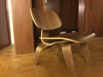 Modern design wooden chair in Ramstein, Germany