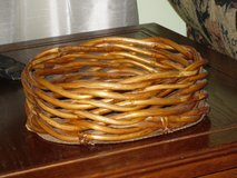 "wood bottom basket 9x7x3""H in St. Charles, Illinois"