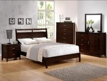 NEW! QUEEN URBAN SOLID WOOD BED SET (NEW)! in Camp Pendleton, California