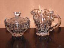 gorham crystal cream & sugar set in Glendale Heights, Illinois