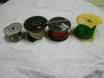 3 Spools of Electrical Wire and 1 Spool of Hanging Wire in Alamogordo, New Mexico