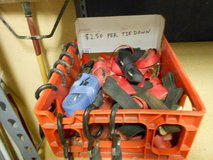 Small 1 Inch Cargo Ratching Tie Down Straps, Used in Alamogordo, New Mexico