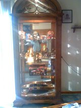 Large Lighted Curio Cabinet in Louisville, Kentucky