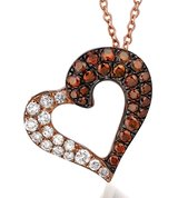 14k levian chocolate and white diamond necklace in Okinawa, Japan