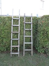 German orchard ladder (1 left) in Ramstein, Germany