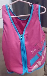 Barbie floatation vest in Okinawa, Japan