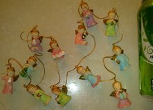 New - 3' Long Mini Ceramic Angel Garland - High & Detailed Quality in Ramstein, Germany